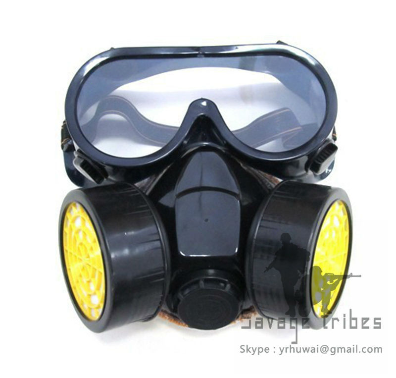 2014 New Outdoor Dust Respirators Indoor Purify the air mask Paintball gun game / BB shells game decorative masks(China (Mainland))