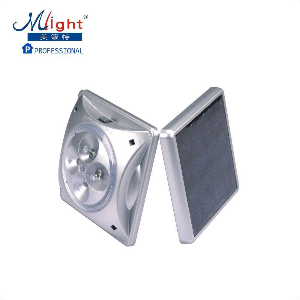 Фотография Highlight 4 LED solar lamp outdoor leisure umbrella tent light Lantern magnet clip