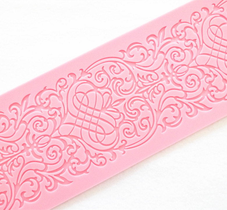 Easy Cleaning Silicone Cake Lace Mats Fondant Flower Mould