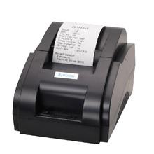 58mm Mini impressora térmica de impressora pequeno bilhete térmica 58mm restaurante interface USB 58mm pos bill impressora térmica recibo impressora(China (Mainland))