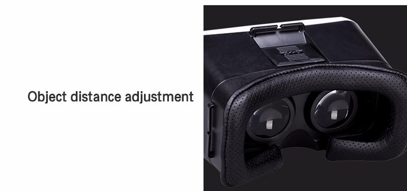 ถูก 2016 VRสวนV3ความจริงเสมือน360องศาที่สมจริงหัวติดตั้งแว่นตา3DของG Oogleกระดาษแข็งไร้สายบลูทูธสำหรับมาร์ทโฟน