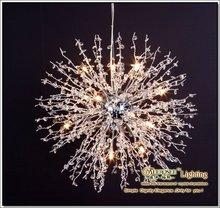 Crystal pendant light Modern decoration suspension lighting fixture Crystal hanging lamp special drop lamp vintage lustre MD1107(China (Mainland))