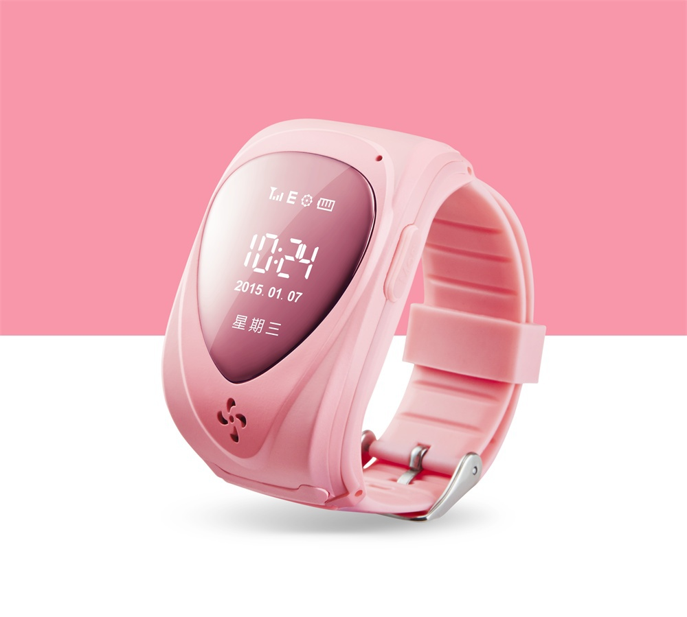 Free shipping GPS Trackers for Kids Smart GPS Watch Bracelet Wristband Positioning of GSM Mobile Phone Anti-lost smartwatch(China (Mainland))
