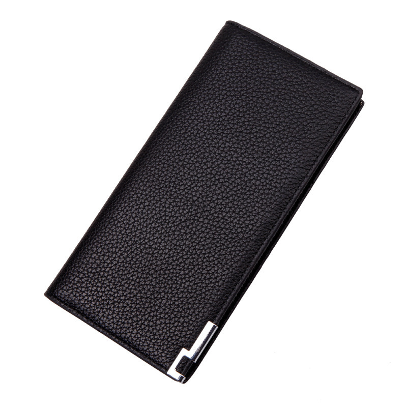 New Fashion Men Business Wallets PU Leather Long Manufacturer Wallet Card Holder Bag Money Professional Man