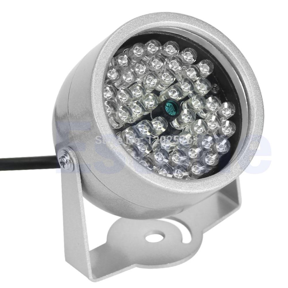 Free Shipping CCTV 48 LED Illuminator light CCTV Security Camera IR Infrared Night Vision Lam(China (Mainland))