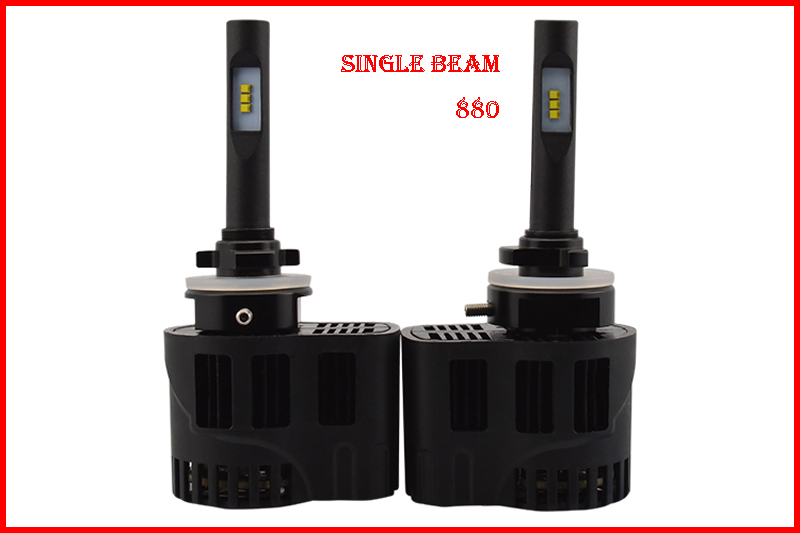 1 Set 880 50W 6400LM P6 Auto LED Headlight Mini Size ALL IN ONE LUMILED LUXEON ZES CHIPS 12/24V 3000K 4300K 5000K 6000K CANBUS(China (Mainland))