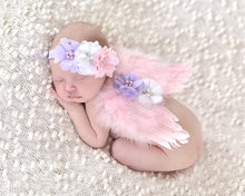 infant Newborn Baby Girl Clothes Girls Flower Headband further angel wings baby Photography Prop Newborn Costume Clothing Set