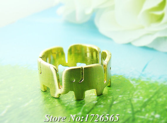 2015 New Arrival Hippie Cute Elephant Band Wrap Ring Boho Chic Mid Finger Animal Anel Couple Rings For Men Women Fine Jewelry<br><br>Aliexpress