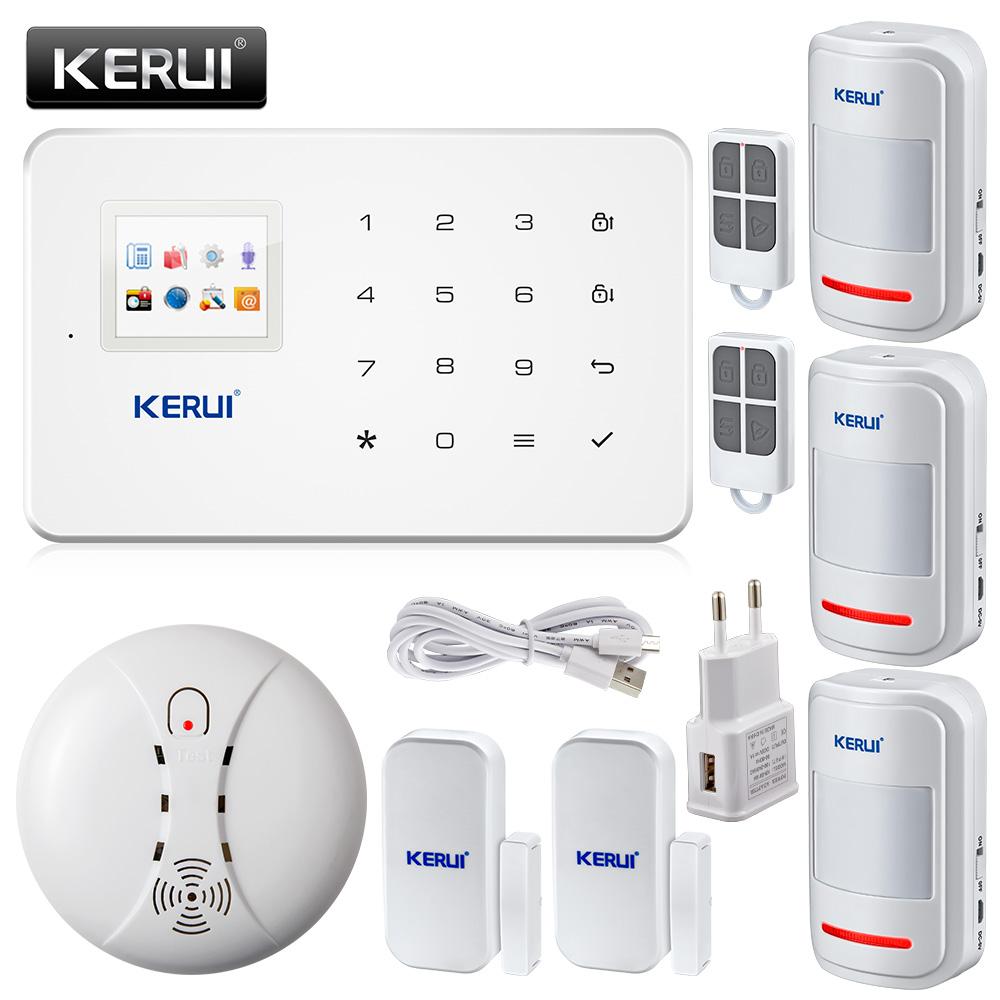 Compra sistema de alarma gsm seguridad para el hogar - Sistema de alarma gsm ...