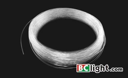0.75mm End-Emitting Optical fiber,Fiber optic lighting from BClight(China (Mainland))