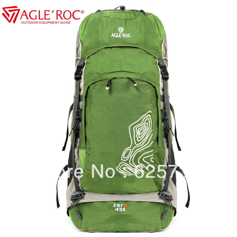 45 L outdoor mountaineering backpack bag lovers design hiking camping travel