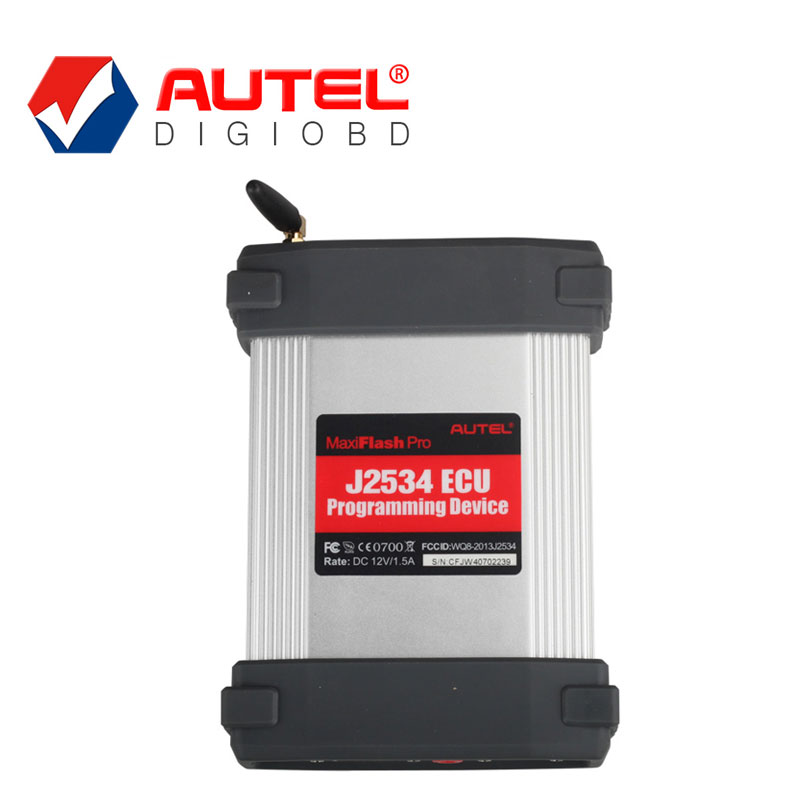 New Arrival Autel MaxiFlash Pro J2534 ECU Programming Tool Works with Autel Maxisys 908P Diagnostic Tool DHL Free Shipping(China (Mainland))