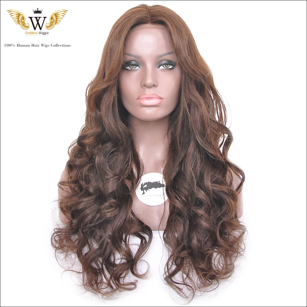 180Density Glueless Virgin Full Lace Human Hair Wig Brazilian Human Hair  Lace Front Wig Ombre For Black Women<br><br>Aliexpress