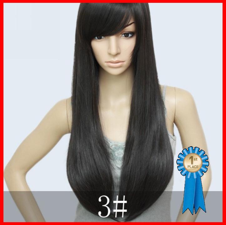 Blended Hair Wigs Blended Hair,26inch 200g