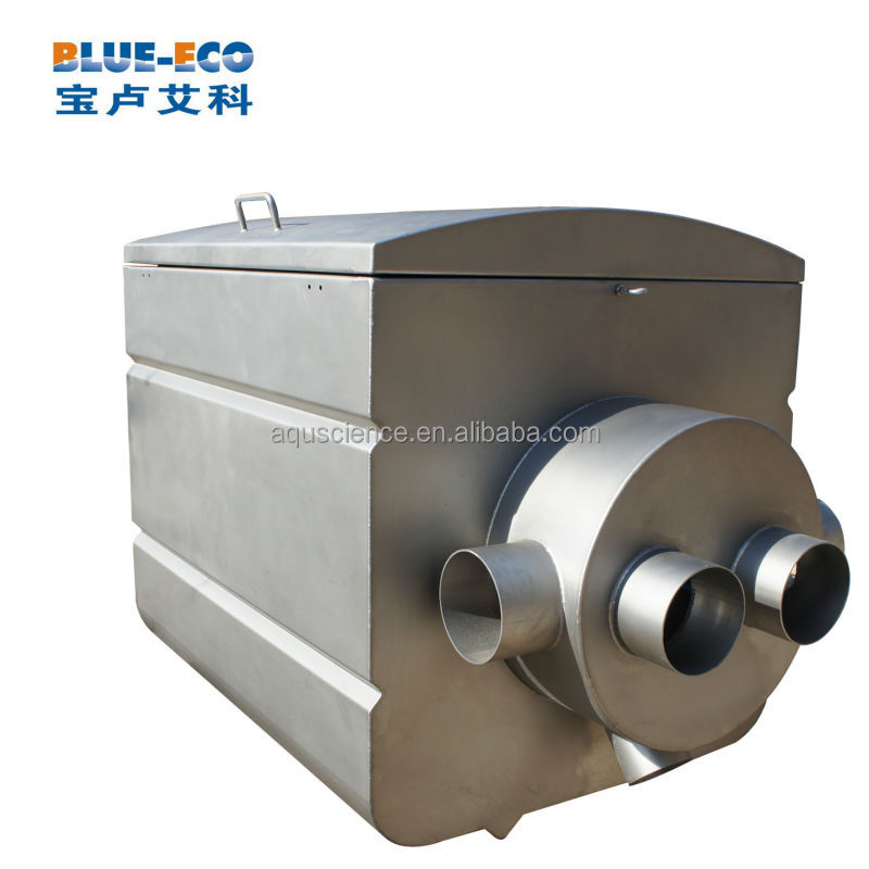 Stainless steel material drum filter for koi fish farm and for Koi pool filters