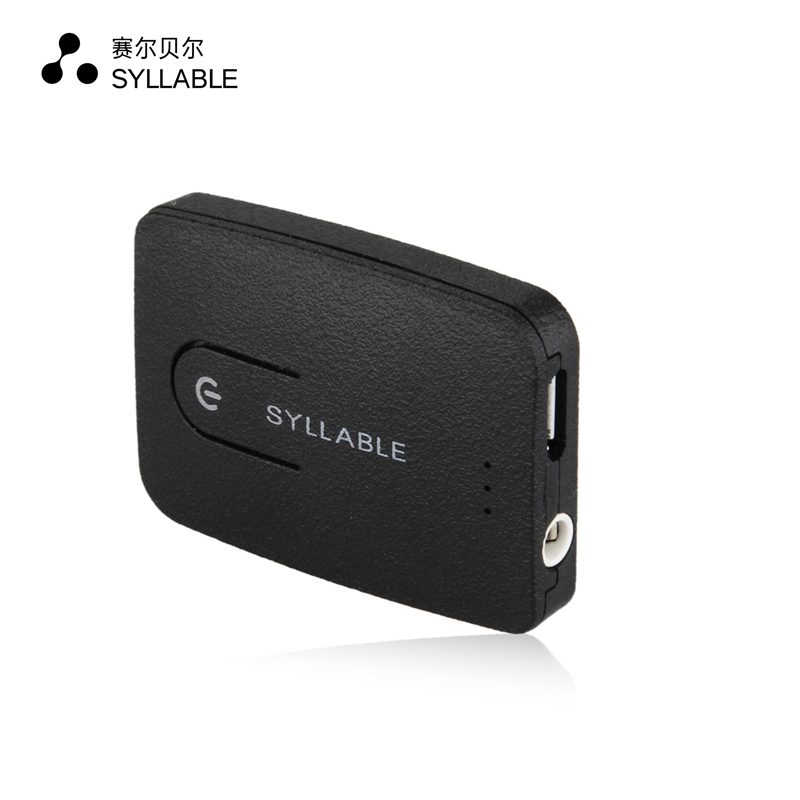 Original Syllable E3 3.5mm Audio Music Bluetooth 4.0 Wireless Transmitter For Computer TV 3.5mm Audio Adapter Receiver(China (Mainland))