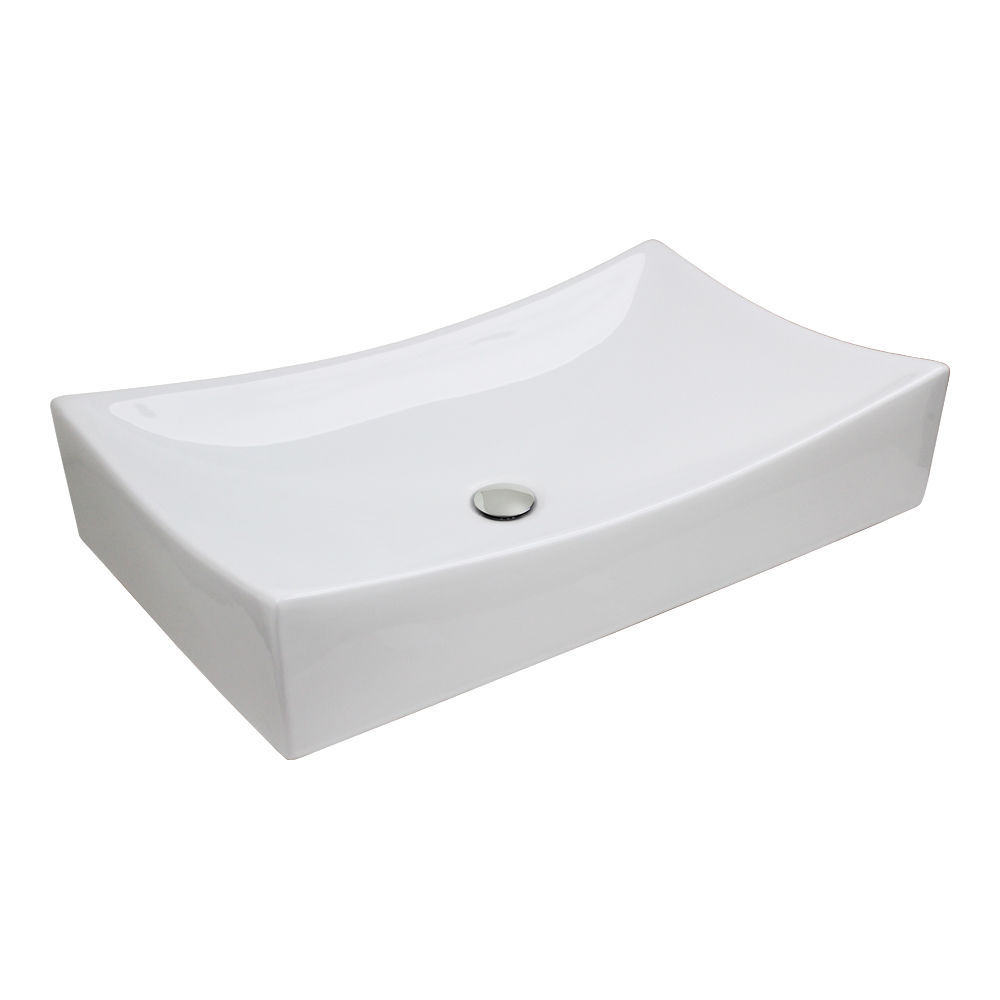Original  Combo White Black Granite Top Contemporarybathroomvanitiesandsink