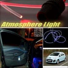 Car Atmosphere Light Fiber Optic Band Citroen C1 2005~2015 Furiosa Interior Refit / Dizzling Cab Inside DIY Air light - speed car store