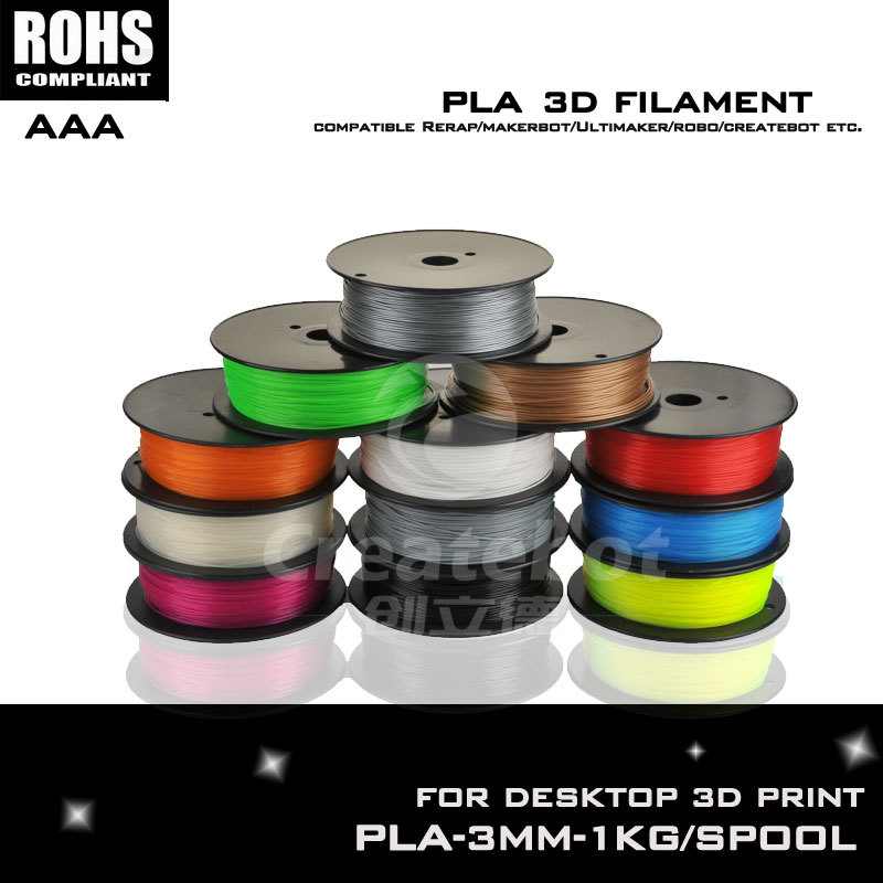 Hot sale china yellow pla plastic for 3d printer high quality pla 3mm pla filament 1kg such as Createbot ,Makerbot, RepRap,etc<br><br>Aliexpress