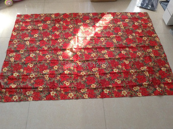 Christmas Red flowers  Polyester Table Cloth,150x230cm Rectangle  thinkness waterproof table cloth