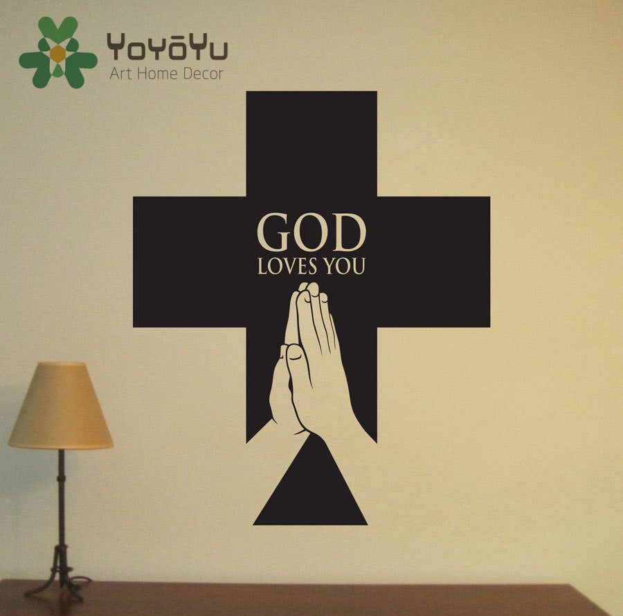 Popular jesus wall decals buy cheap jesus wall decals lots for Christian wall mural
