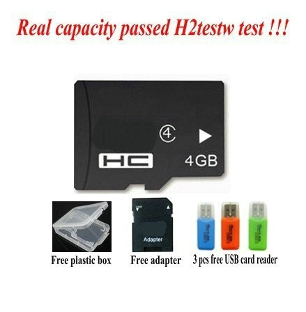 Wholesales-2GB 4GB 8GB class4 Memory card 16GB 32GB 64GB 128GB class10 micro unique tf sd card +retail package deal adapter reader