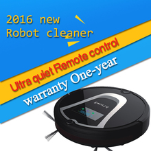 Eworld M884 New Design Floor Wash Robot Smart Vacuum Cleaner Robot Infrared Induction Receiver Alarm Function with Mop Black(China (Mainland))