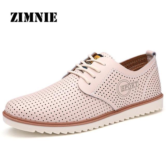 Горячая ручной мужские перфорированная обувь мужчины высокое качество марка искусственная ...