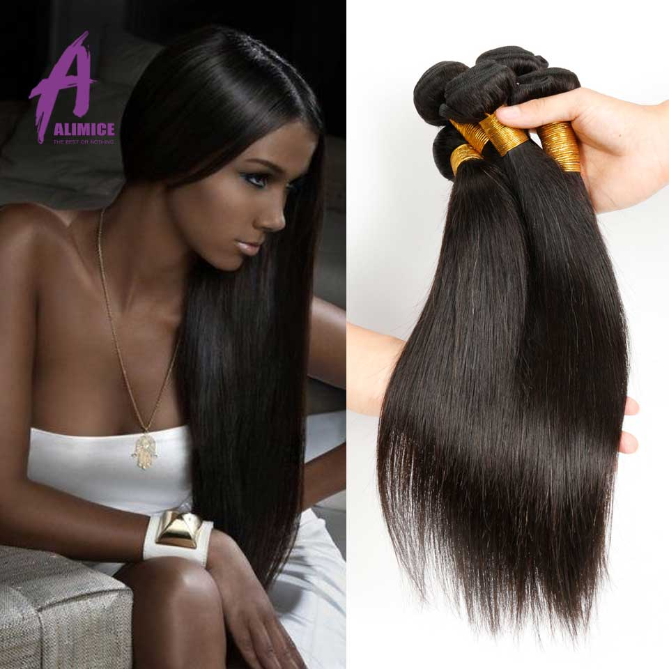 Unprocessed 7A Quality Brazilian Virgin Hair straight Human Hair Extension 3Pc Lot domestic delivery Virgin Brazilian Hair Weave<br><br>Aliexpress