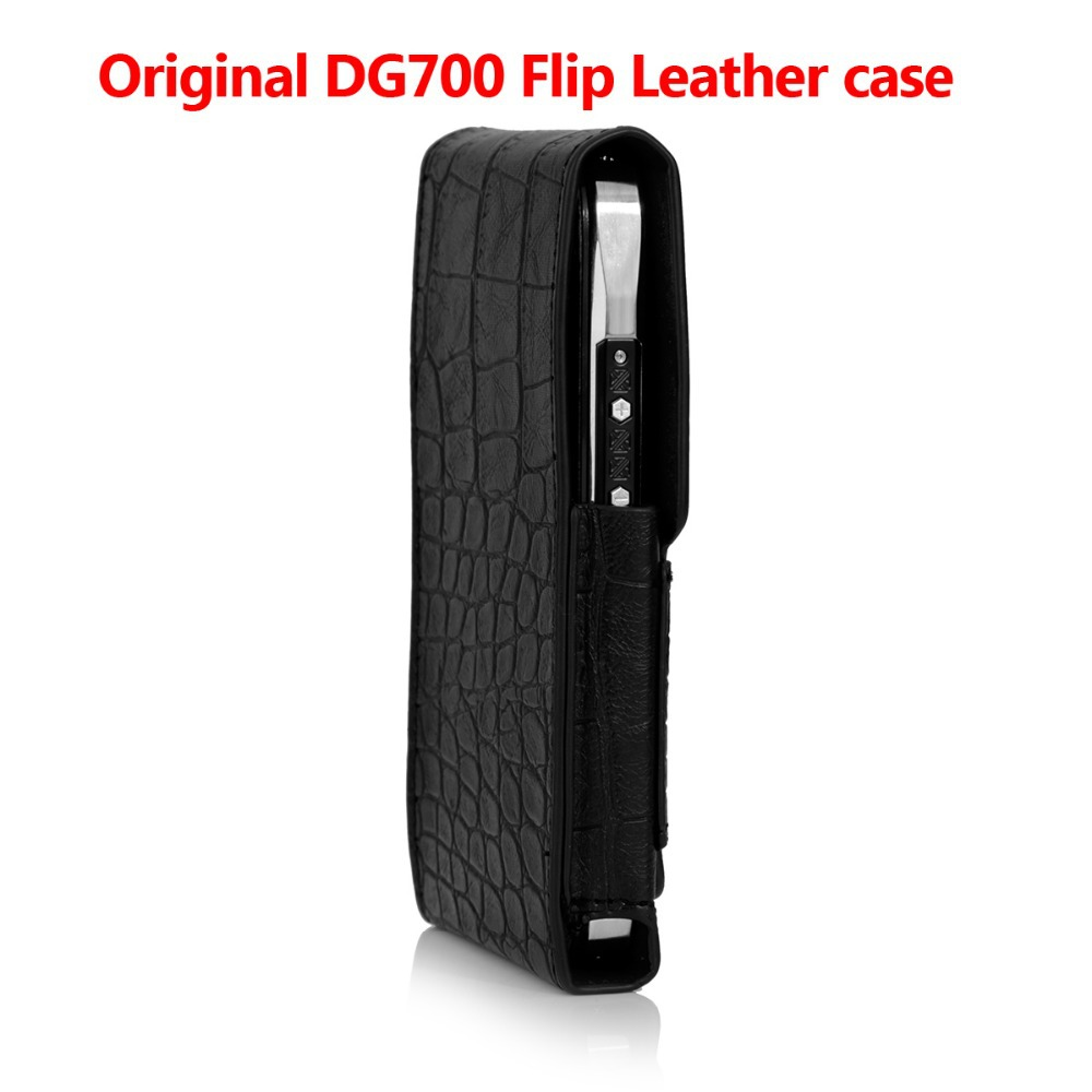 Original DOOGEE 700 Leather Case cover Good Quality Top Open PU Flip Phone case cover for DOOGEE DG700 Android Mobile(China (Mainland))