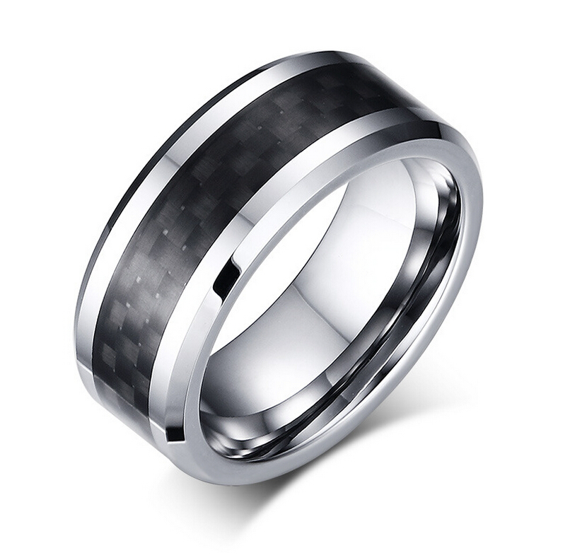 aliexpresscom buy hot fashion men ring jewelry With tungsten steel wedding rings