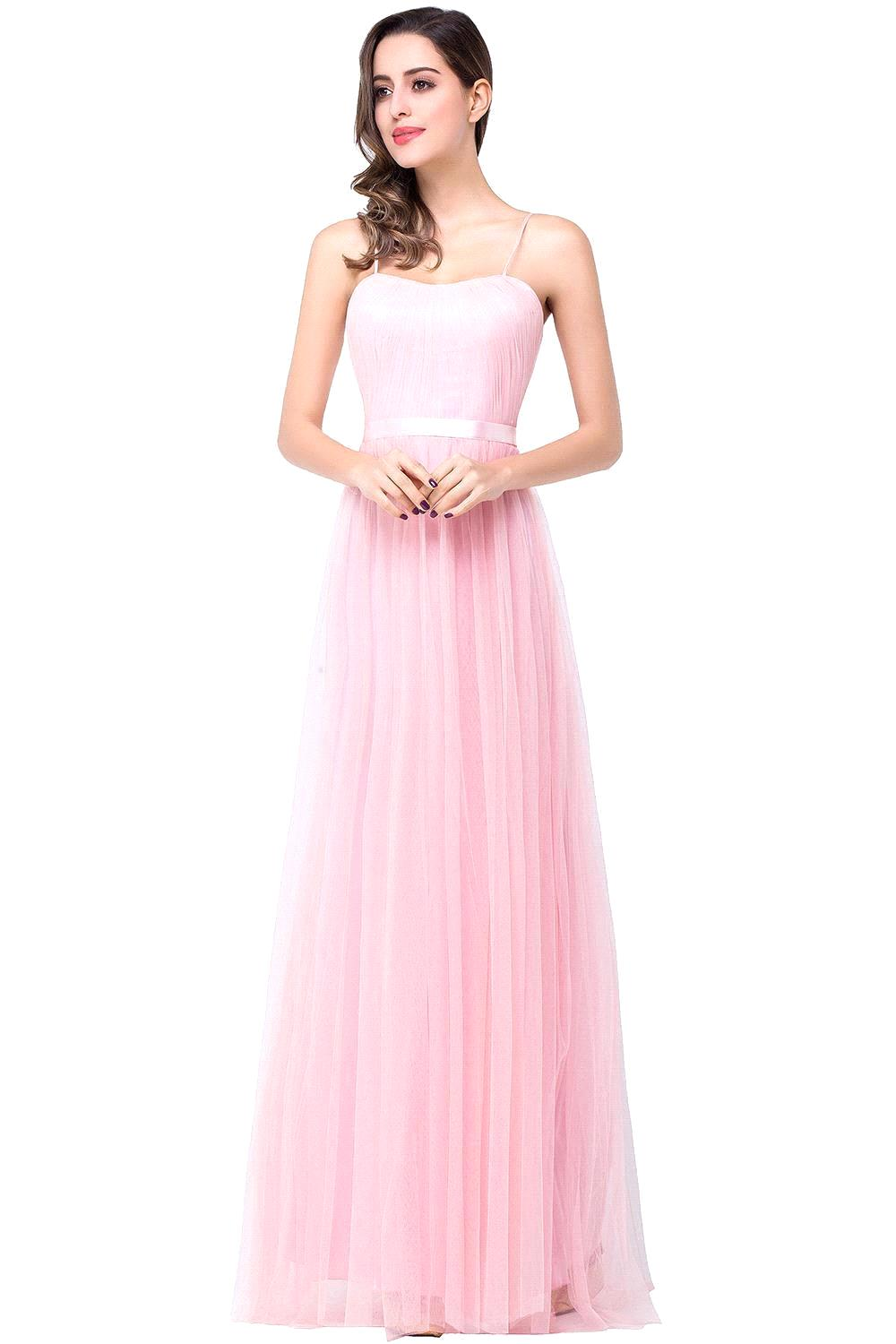 Buy mix order 4 styles pink bridesmaid for Formal long dresses for weddings