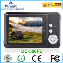 Buy Winait DC-500FE Max 18MP digital camera disposable camera 8X Digital Zoom mini digital camera smile capture for $39.99 in AliExpress store