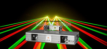 New arrival Double lens RGY laser stage lighting lazer show system free shipping(China (Mainland))