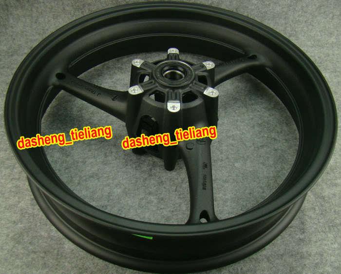 Motorcycle Alloy Front Wheel Rim For Suzuki GSXR 600 750 2008-2010 & GSX-R 1000 2009-2011 Matte Black(China (Mainland))