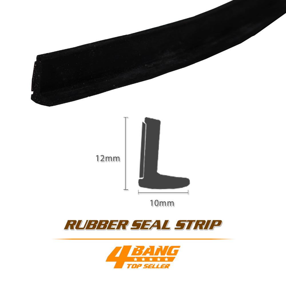 "15 Metre 590"" L Shape Soundproof Dustproof Waterproof Trim Adhesive Pillar Seal Guard Edge WeatherStrip Black Protector Rubber(China (Mainland))"