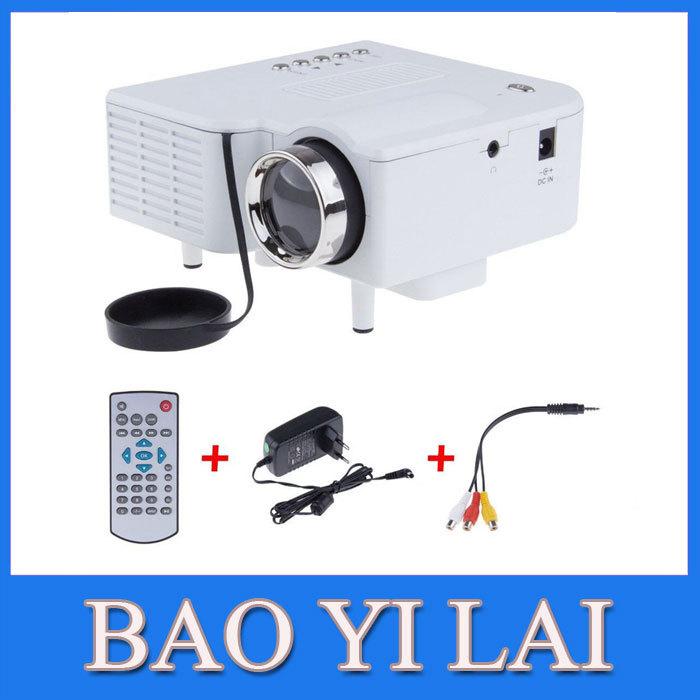 NEW UC28 PRO HDMI Portable Mini LED Proyector Projector Home Cinema Theater AV VGA USB SD HDMI Multimedia PlaySation(China (Mainland))