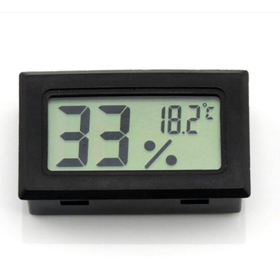 Digital LCD Thermometer Hygrometer Temperature Humidity tester Fridge Freezer  Meter