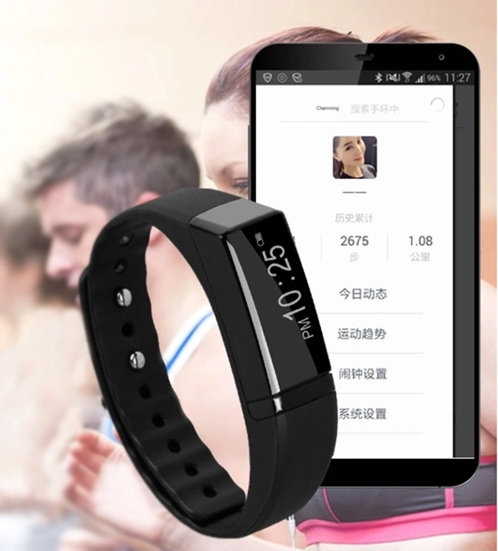 Unisex Smartwatch for Android/ ios Cellphones Sport Healthy Watches Buetooth 4.0 USB 6 Colors TPU Smartband(China (Mainland))