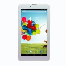7 дюймов Android таблетки пк 3 г вызова SIM карты Mtk6572 двухъядерный wi-fi Bluetooth fm-gps android-otg USB телефонный звонок планшет android4.2