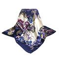Wholesale 90cm 90cm 2016 New Scarf Women l long silk scarf Fashion shawl High quality winter