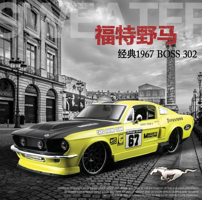 Brand New1:24 Maisto1967 ford mustang sports car model simulation alloy car model(China (Mainland))