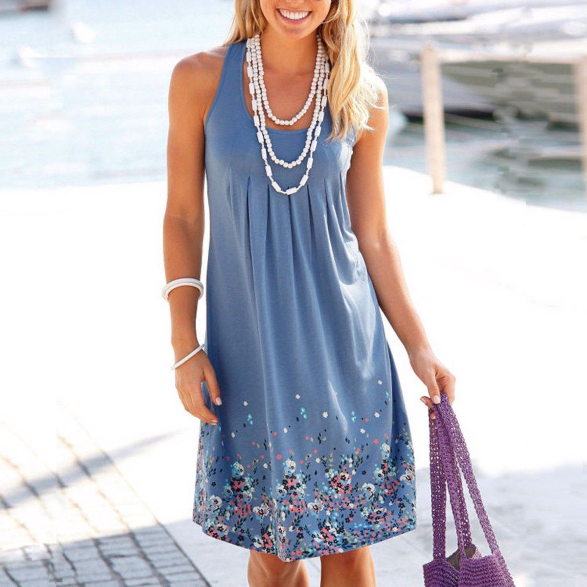 Compare Prices on Cotton Sundresses Plus Size- Online Shopping/Buy ...