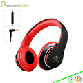 Dreamersandlovers Stereo Portable Headphone With 3 5mm Audio Cable Build in Microphone and Volume Control Bass