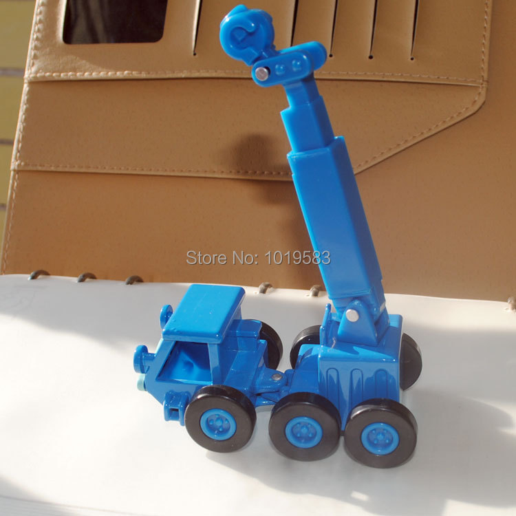 Free Shipping (10pcs/pack) Wholesale Brand New Bob The Builder Toys Lofty The Blue Crane Diecast Metal Car Toy(China (Mainland))