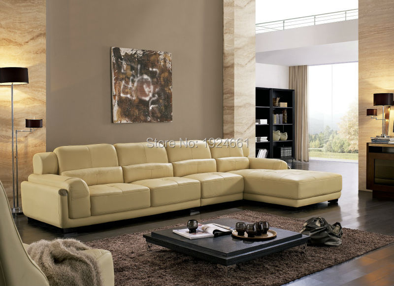 Online get cheap modern leather loveseat for Leather living room furniture sets sale