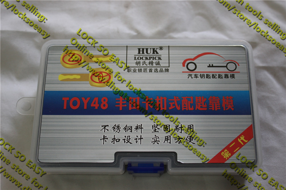 Locksmith Supplies HUK Automobile Key Copy Explorator TOY48 For TOYOTA Locksmith Tools(China (Mainland))