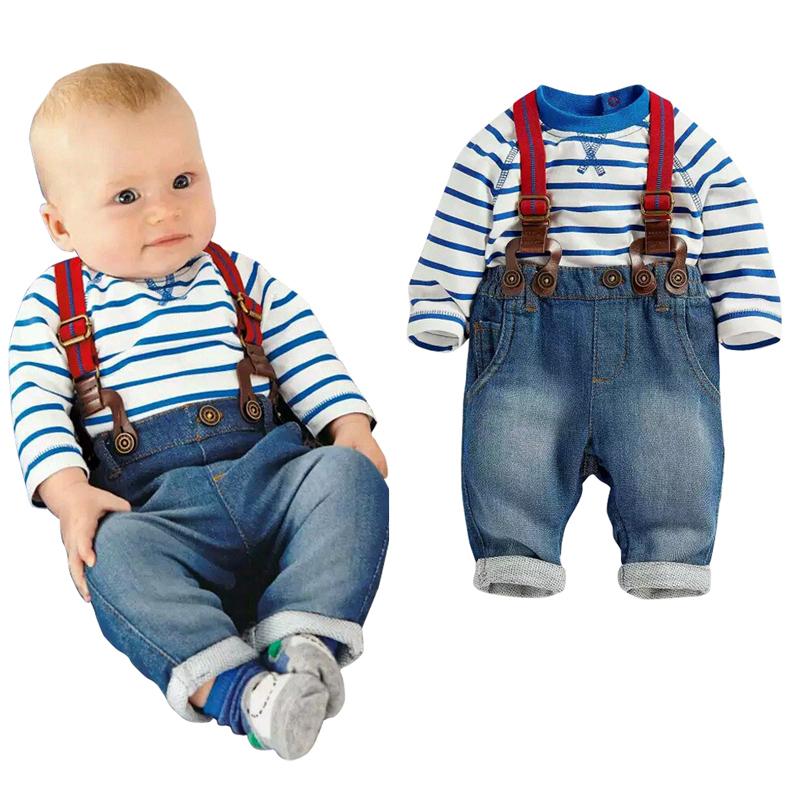 baby clothing set cool boys 3pcs suit (t shirt+pant ...