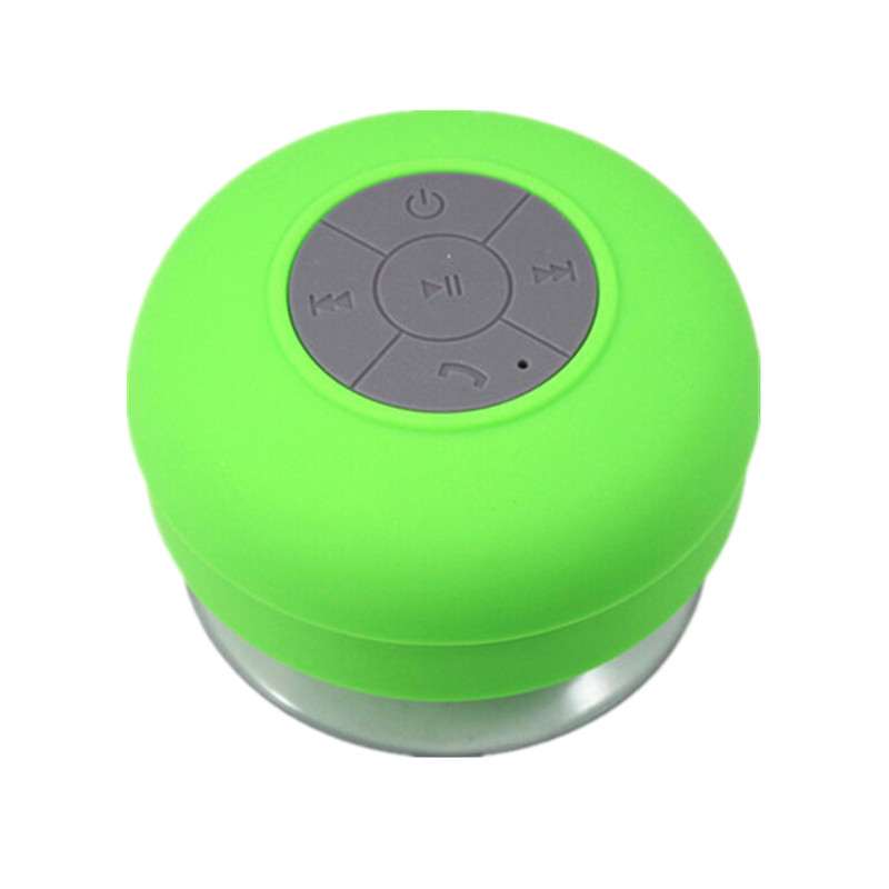 Hot portable Waterproof Wireless Bluetooth Speaker water receiver Shower Car Handsfree Receive Call & Music Suction Phone Mic(China (Mainland))