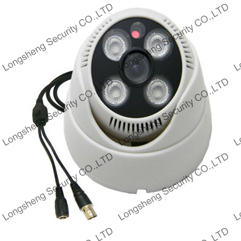 Sony 700TVL Effio-P CCD Dome camera Surveillance 4pcs Array IR 2.8mm Wide Angle Lens CCTV Cameras Super WDR OSD White/Black<br><br>Aliexpress